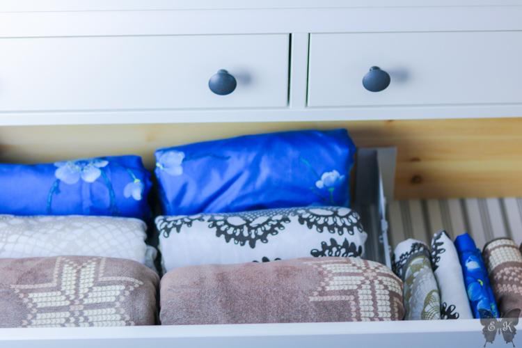 Bettwäsche aufbewahren