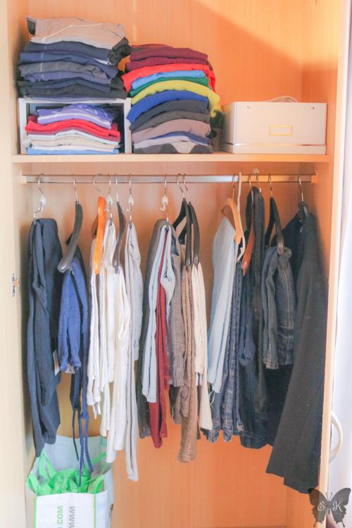 Platz Optimal Ausnutzen Kleine Kleiderschranke Organisieren Die