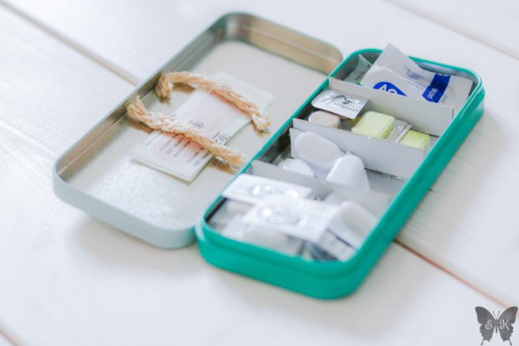Medikamenten Aufbewahrung in der Handtasche