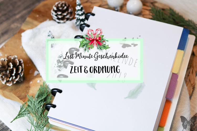 Zeit verschenken Jahresplaner