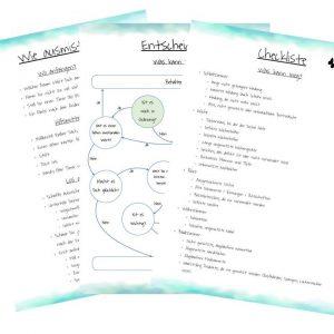Checklisten zum Ausmisten