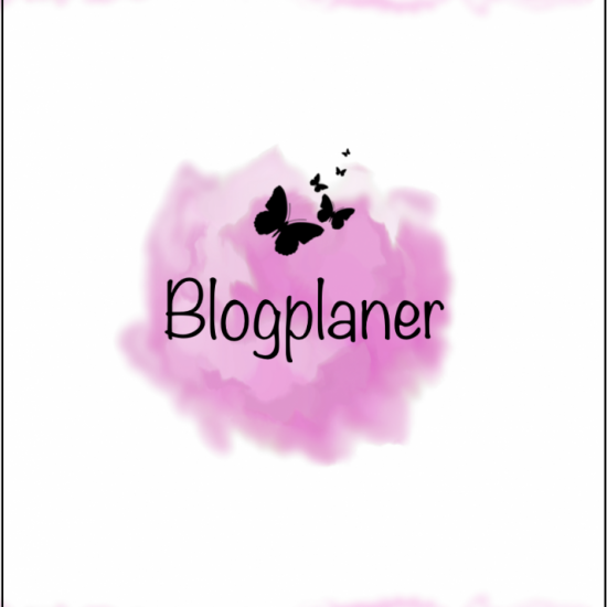 Blogplaner im Watercolor Design [Digital]