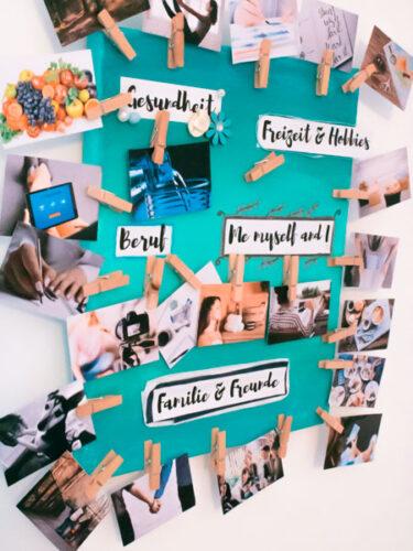 Vision Board - DIY & Meine Ziele für 2020