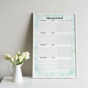 Kühl- und Gefrierschrank Checklisten