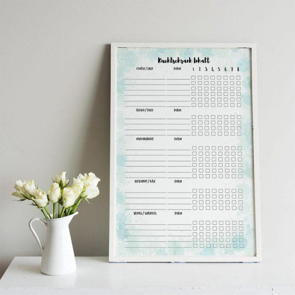 Kühlschrank Checkliste