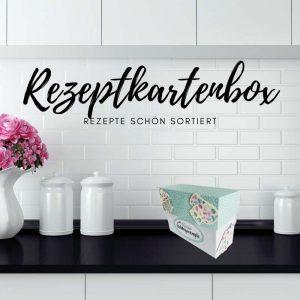 Rezeptkartenbox