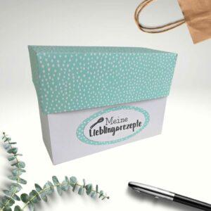 Rezeptkarten Box Handmade