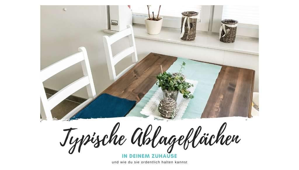 Typische Ablageflächen Titelbild