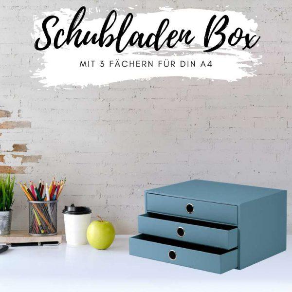 Schubladen Ablage Box
