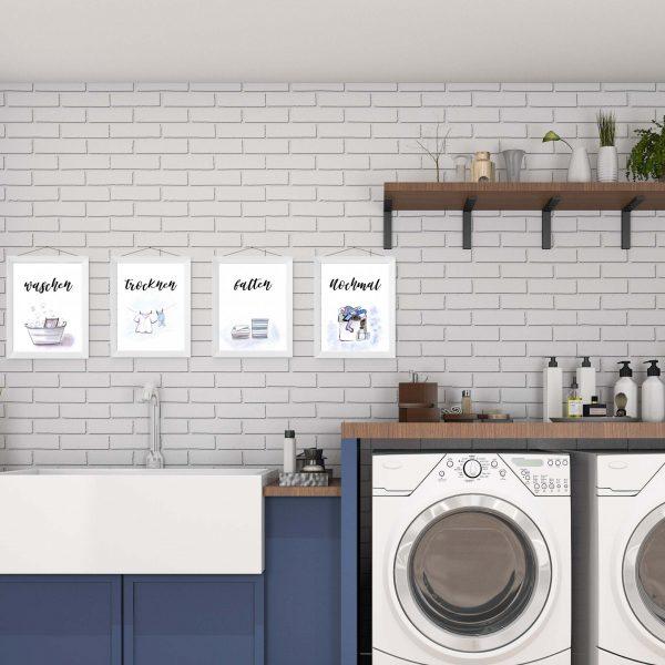 Mockup - Bilder für Waschkammer