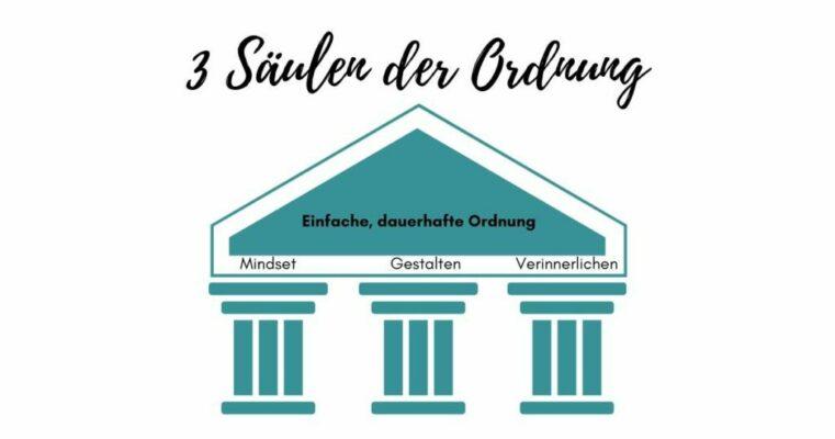 3 Säulen der Ordnung