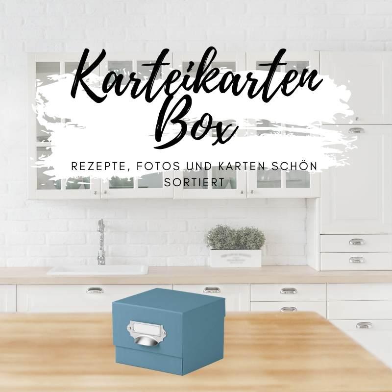 Karteikartenbox