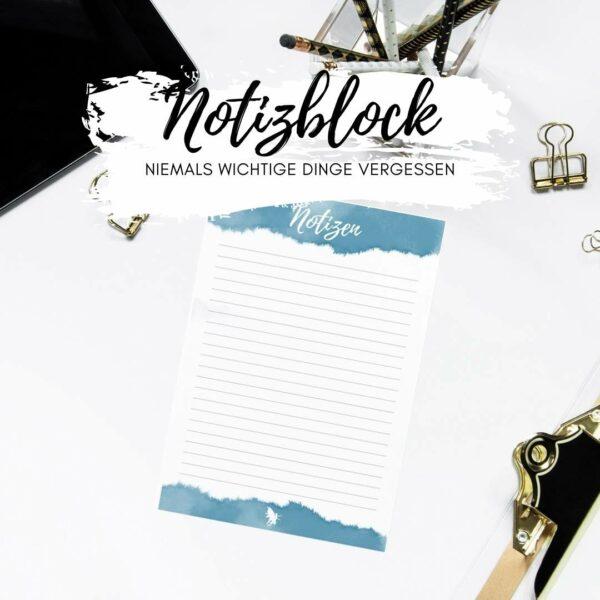Notizblock 50 Blatt liniert